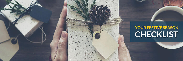 Festive Season Checklist