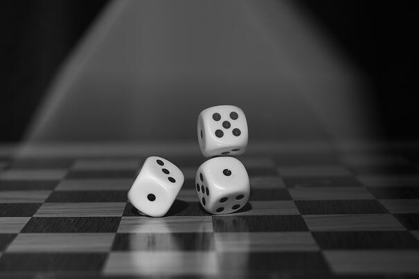 black-and-white-board-game-chance-122427