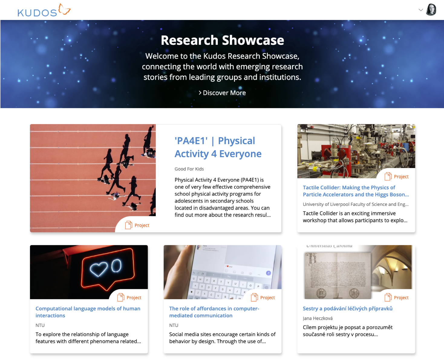 Kudos launches new Research Showcase to maximize non-academic impact of research projects