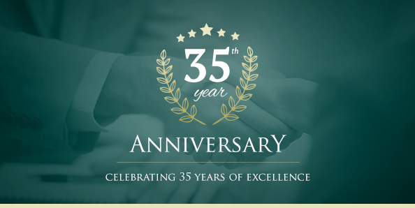 Celebrating 35 years of excellence!