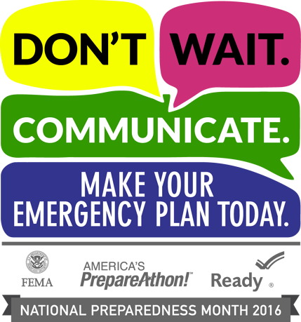 National Preparedness Month – Part 2 Communications