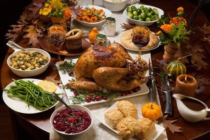 Thanksgiving Calorie Count