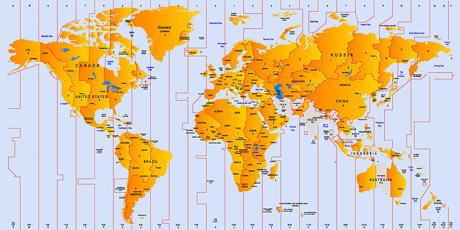 Something Different- Time Zones
