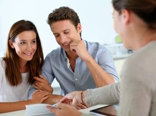 Estate planning attorney helping clientele