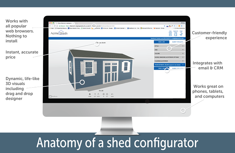 Five Critical Considerations when Selecting a Shed Configurator