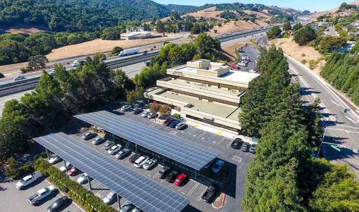 Cool Earth Solar Completes SunPower® Helix™ Carport System