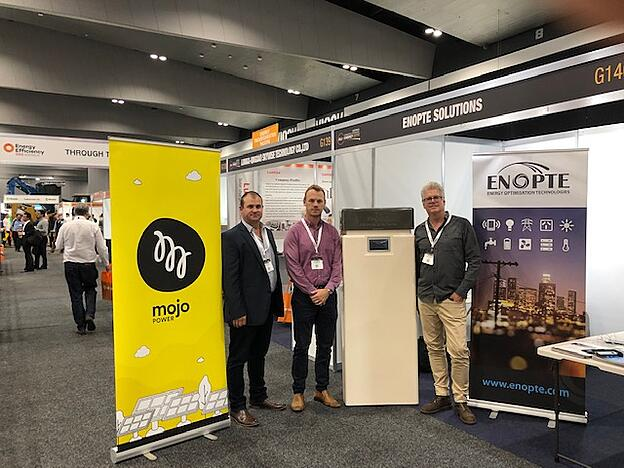 Mojo Power and Enopte partner to optimise energy - sustainably