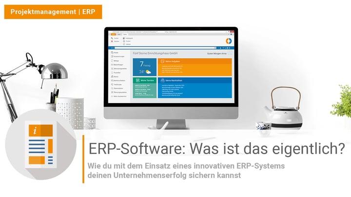 ERP-Software: Was ist das eigentlich?