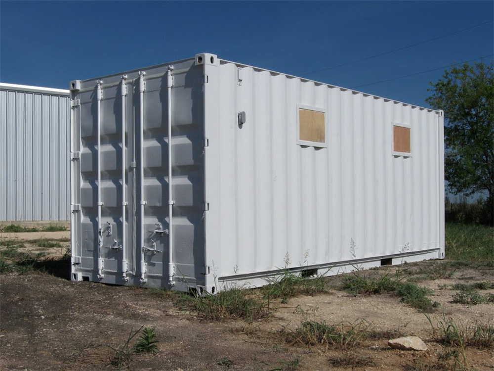 Conex box house pictures to pin on pinterest pinsdaddy for Conex container homes