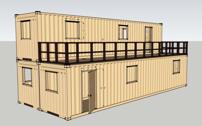 Shipping container designs building container homes falcon structures - Container home building code ...