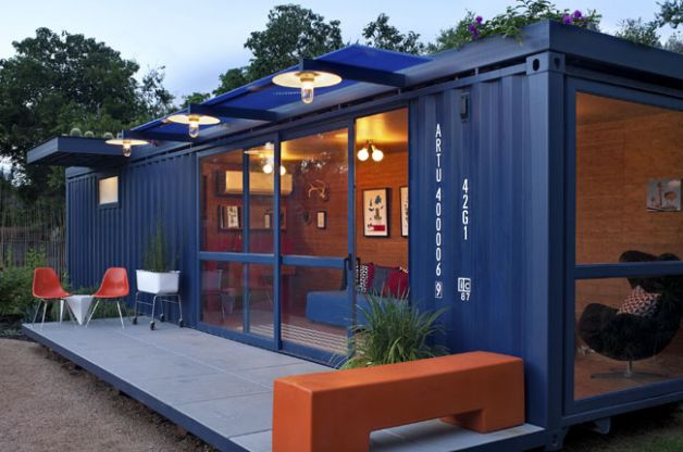 Shipping container homes ideal for a guesthouse - Container homes austin ...