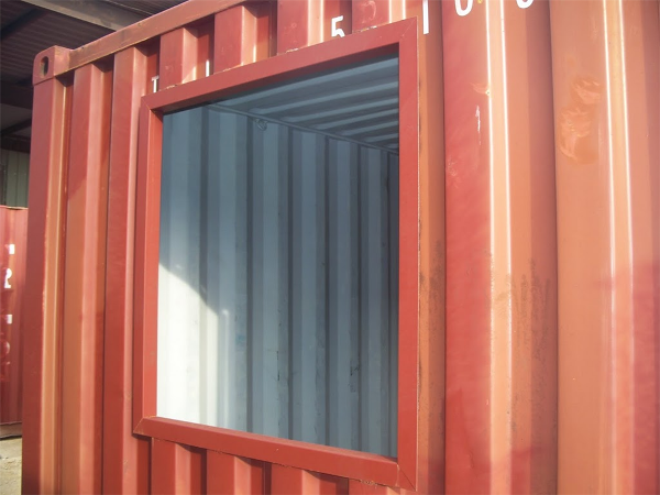 custom shipping container