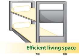 efficient living space