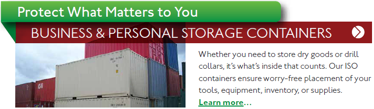 business and personal storage containers