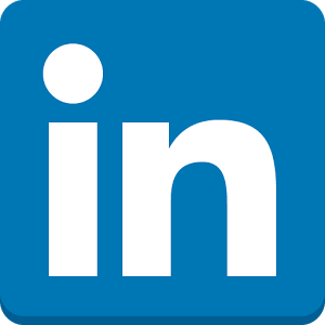 LinkedIn logo button