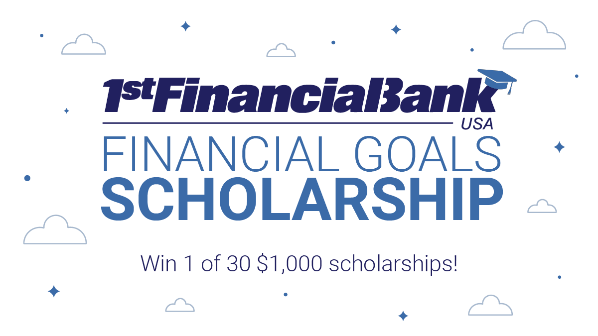 The 50 Financial Goals Scholarship Winners are...
