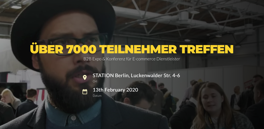 E-Commerce Berlin Expo 2020 I SysEleven on Tour
