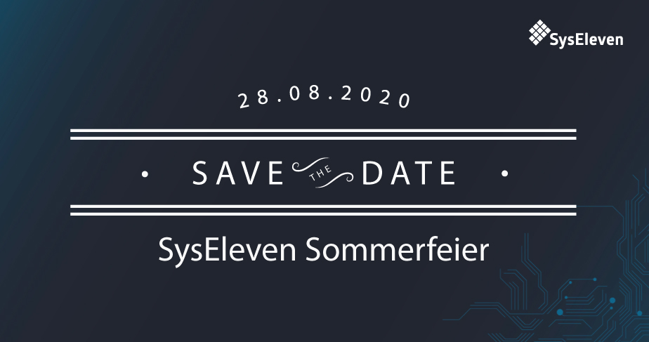 Save the Date: SysEleven Summer Party 2020!