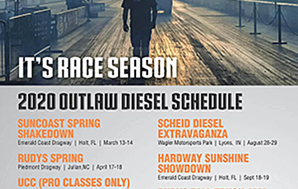 2020 ODSS Race Schedule Released