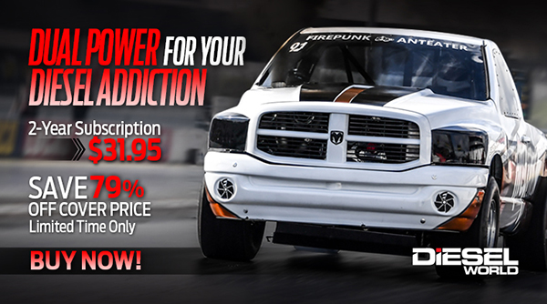 Dual Power for Your Diesel Addiction