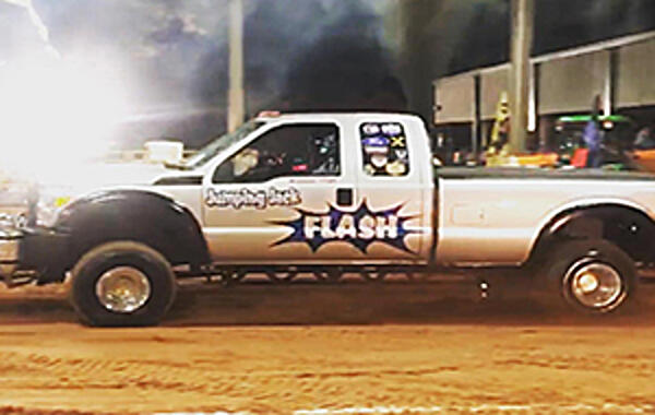 P-pumped 7.3L Invades Ocala, Florida We've been keeping an eye on Nathan Vegh's P-pumped 7.3L coined Jumpin' Jack Flash since it went into hibernation for the winter. The reason?