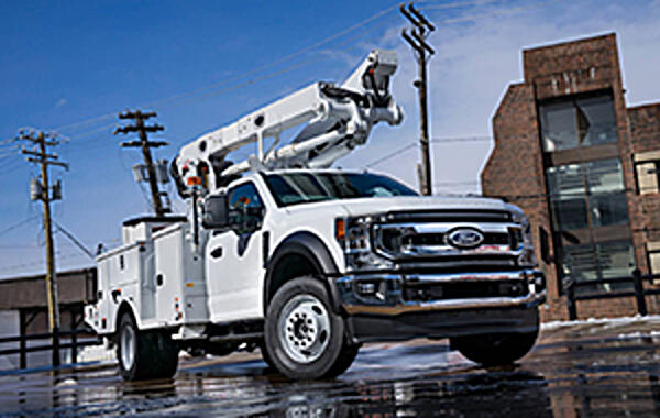Ford Offers Best in Class PTO for Cab-and-Chassis Trucks