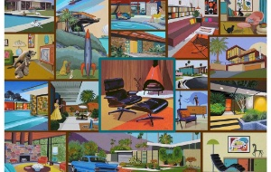 Hennessy Mid-Century Modern Puzzle