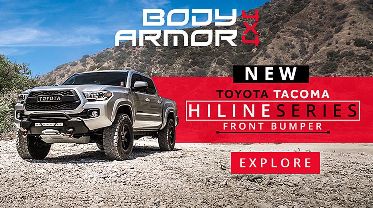 Toyota Hiline Front Bumper - Newsletter Ad TREAD