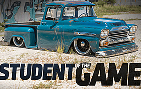 "Student Of The Game! 1959 Apache Built by Chucksee! ""I've always had a strong passion for classic Chevy trucks—they run in my blood"", Chuck says. ""My late grandfather always said to buy Chevrolet because it's the best..."