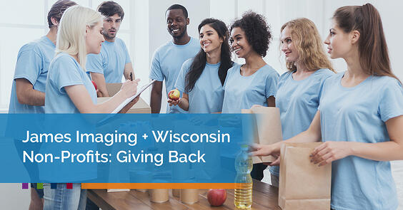 James Imaging  Wisconsin Non-Profits Giving Back