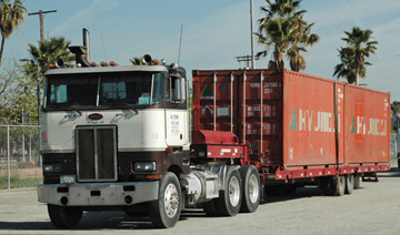 truck congestion at Ports of Los Angeles & Long Beach