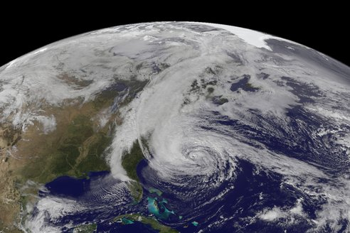 Hurricane Sandy NASA Earth Observatory