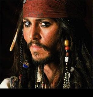 Johnny Depp Pirate Public Domain