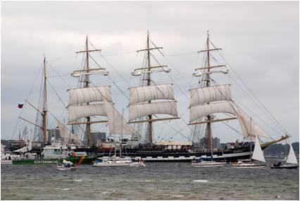 Cargo Sail Ship