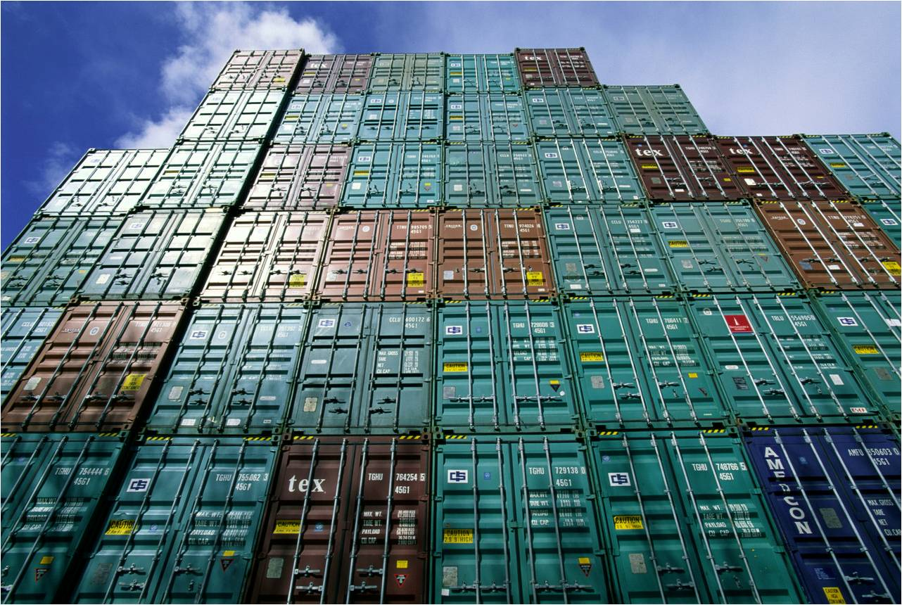 shipping containers verified gross mass