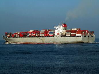 Suez Canal Cargo Ship