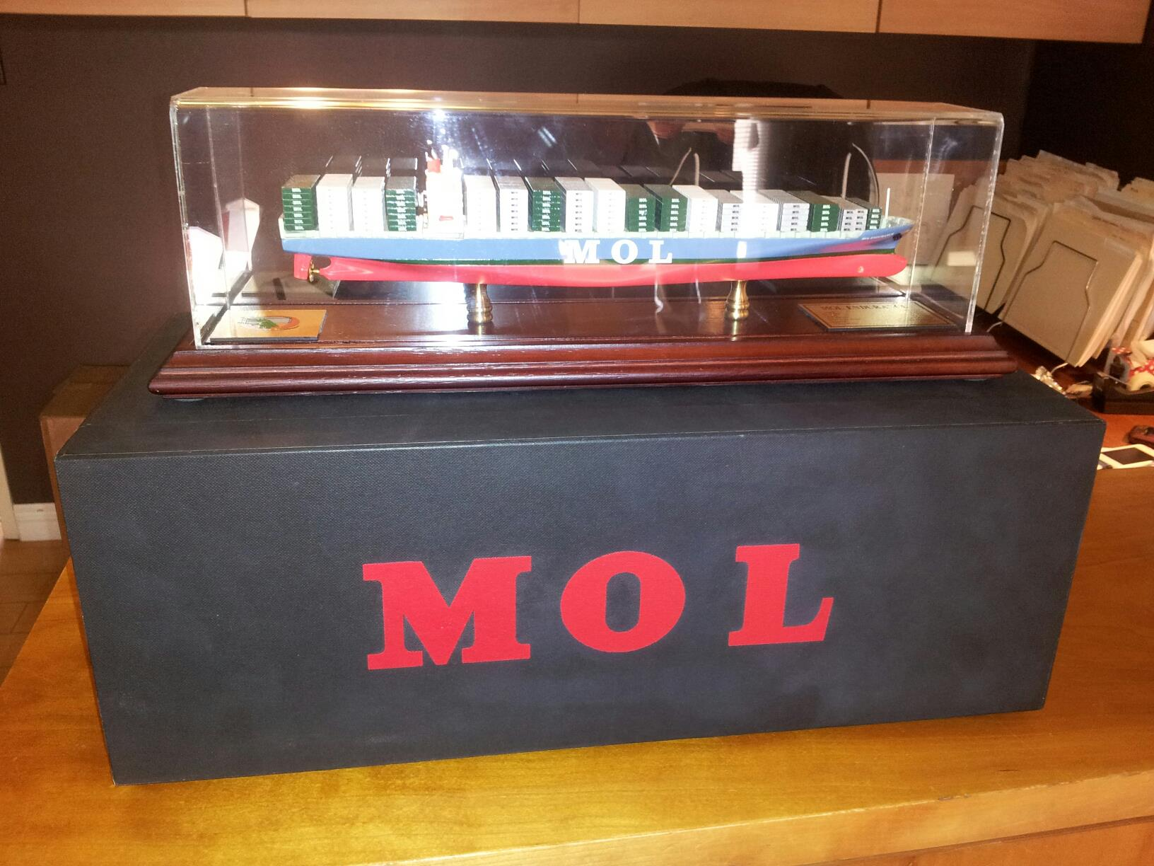 MOL Ship Presented to UCM