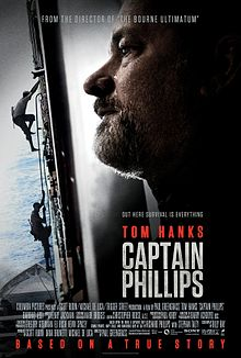 Tom Hanks International Shipping Captain Phillips Poster