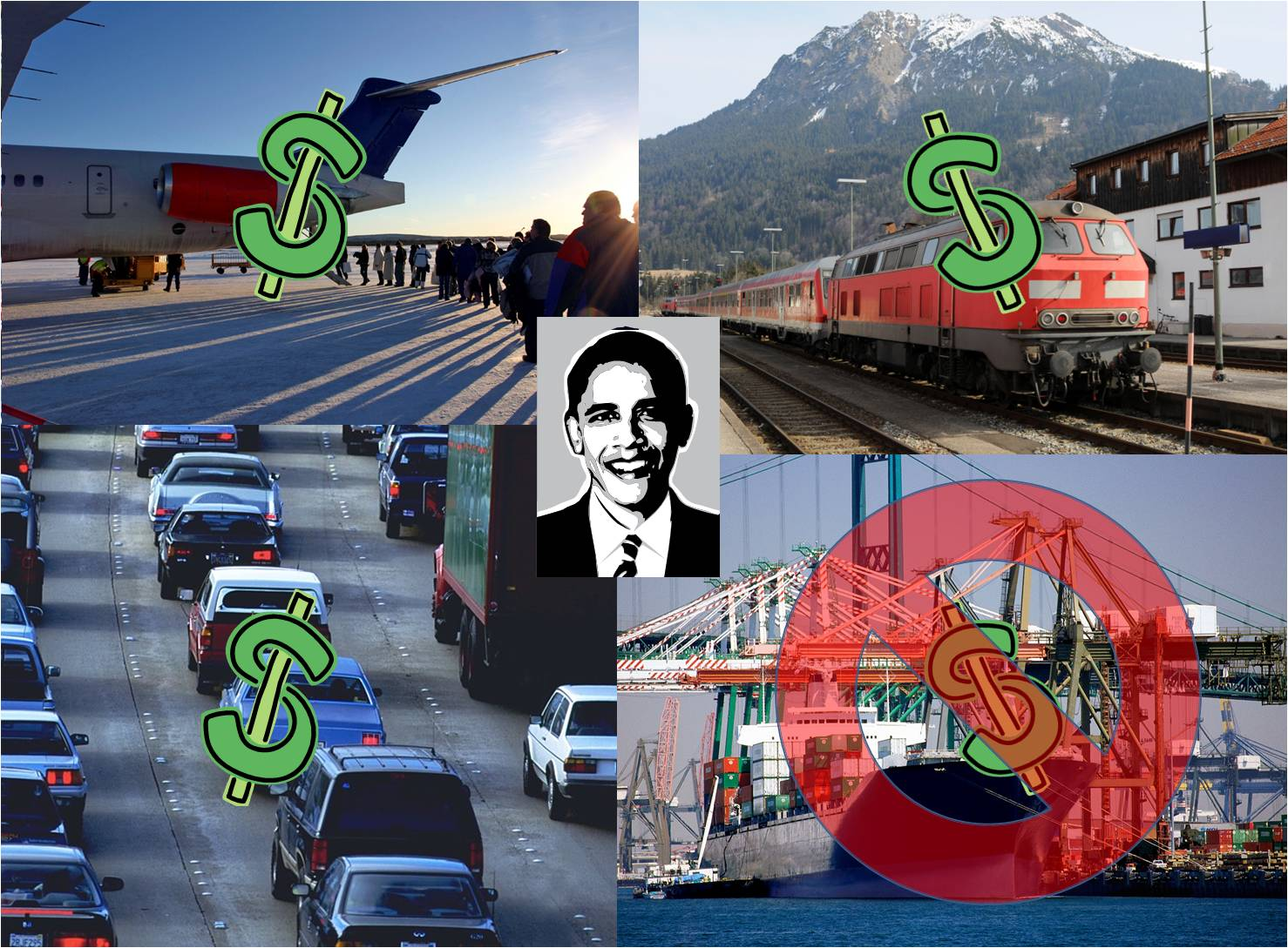 Previous Obama Infrastructure Funding
