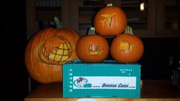 UCM pumpkin carving Team YOLO