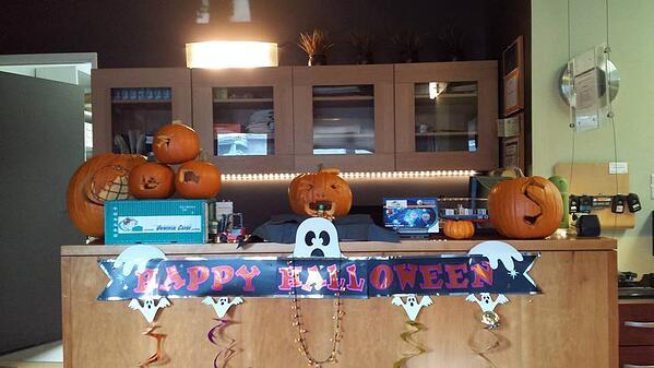 Happy Halloween UCM Pumpkins