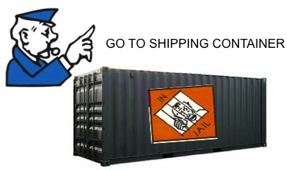 Go to shipping container