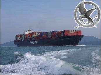 hunger games international shipping