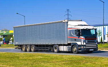 International Shipping Truck