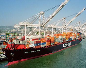 Hapag Lloyd Ship