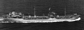 WWII Tanker turned Container Ship