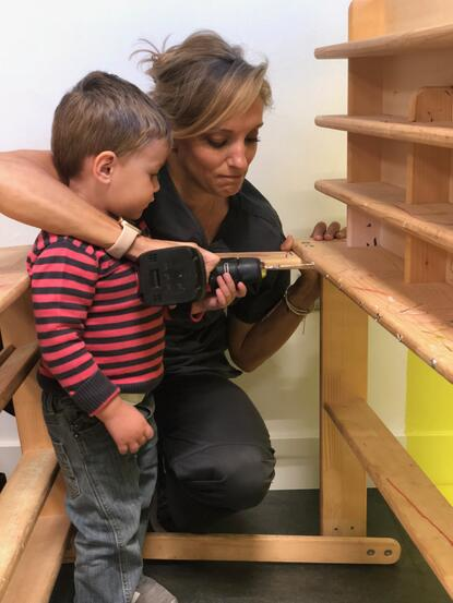 """Chores, Tinkering and Exploring tools gets children excited everyday and they are a great way to teach practical things at home such as """"soft skills"""" which are lacking in the 21st century."""