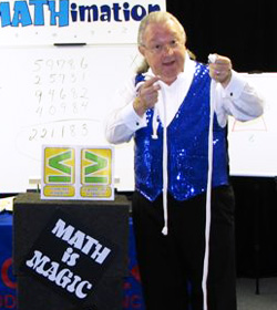 math ropes imathimation magic mathematics school show mobile ed