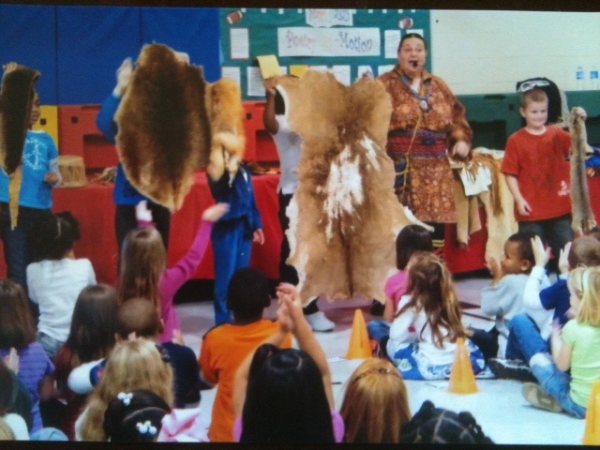 native american school show