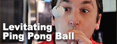 Levitating Ping Pong Ball
